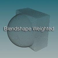 Blendshape Weighted icon