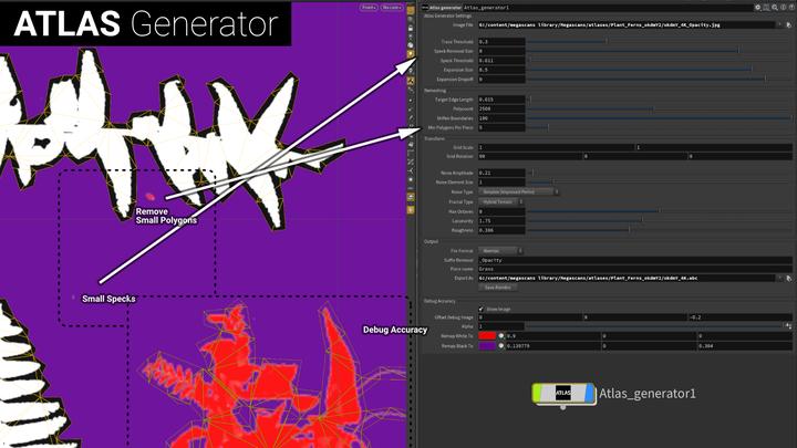 Atlas generator