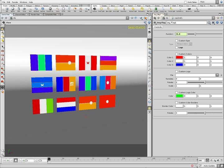 Flag Image Generator
