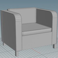 Chair Asset Icon